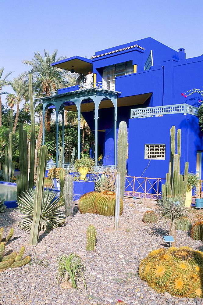 Jardin Majorelle, Marrakech (Marrakesh), Morocco, North Africa, Africa