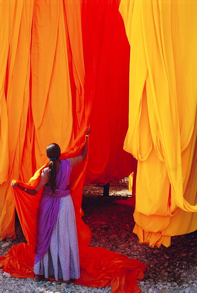 Sari garment factory, Rajasthan, India