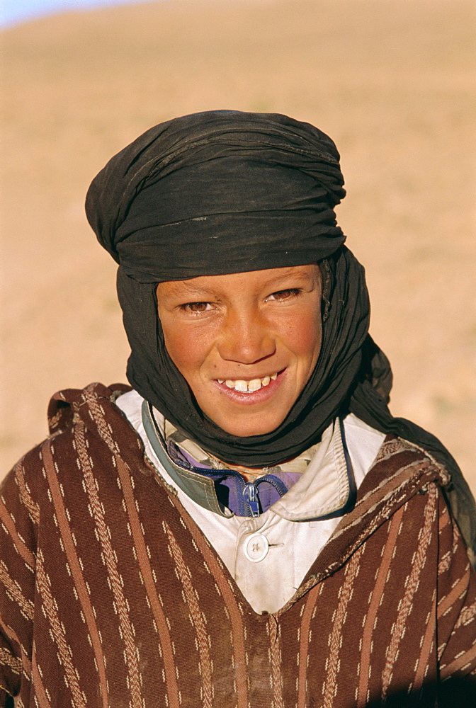 Young berber boy, Dades Valley, Morocco, North Africa
