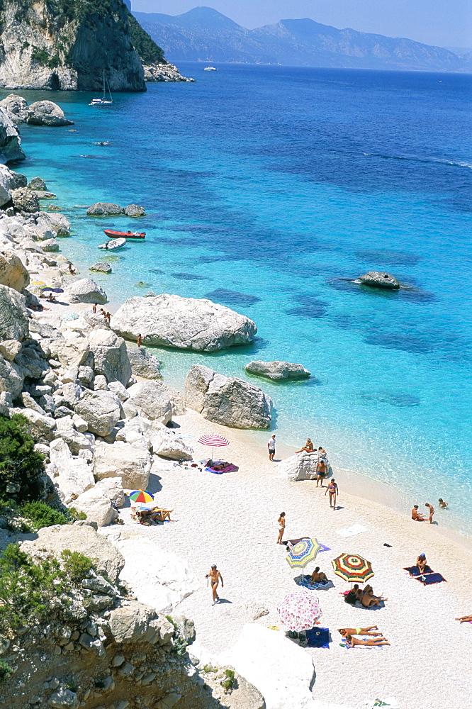 Cala Goloritze, Cala Gonone, Golfe di Orosei (Orosei gulf), island of Sardinia, Italy, Mediterranean, Europe