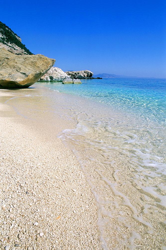 Cala Mariolu, Cala Gonone, Golfe di Orosei (Orosei gulf), island of Sardinia, Italy, Mediterranean, Europe