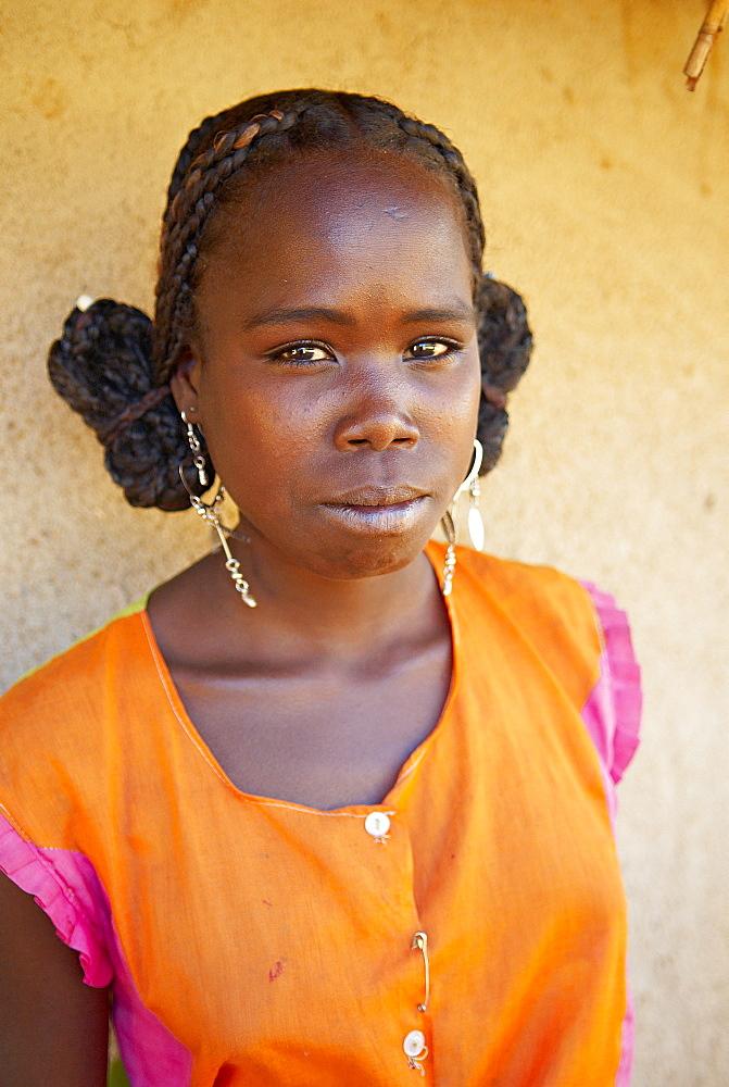 Bara ethnic group village, Madagascar, Africa