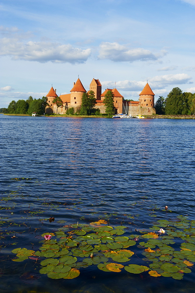 Island Castle of Trakai near Vilnius, Lithuania, Europe