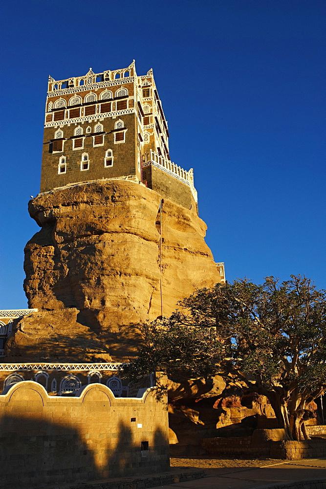 Rock Palace (Dar Al Hajar), Wadi Dhar, Yemen, Middle East