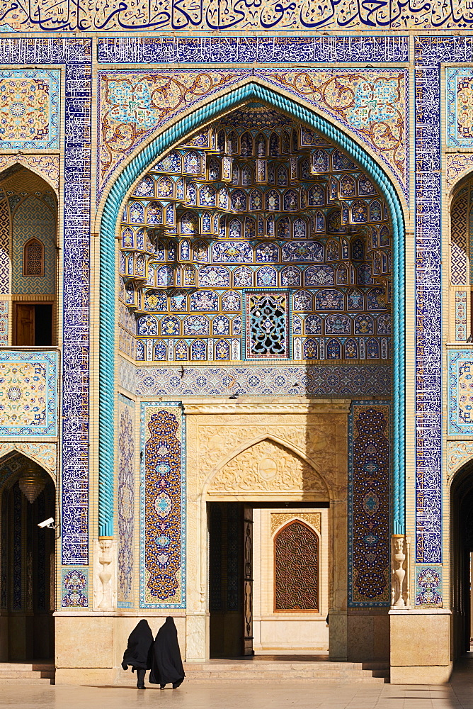 Shah Cheragh Mausoleum, Shiraz, Fars Province, Iran, Middle East - 712-2857