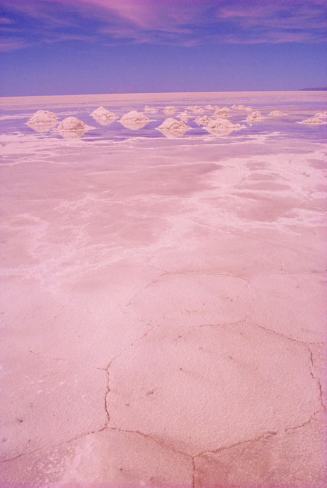 Salt lakes, Salar de Uyuni, Bolivia, South America