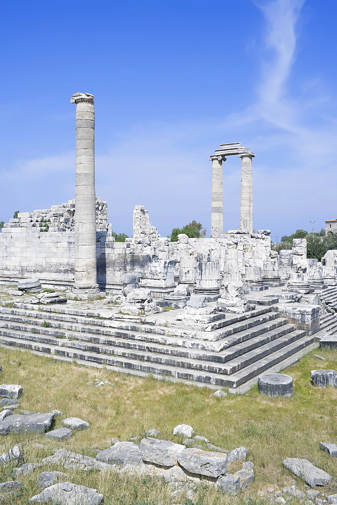 Temple of Apollo, Didyma, Anatolia, Turkey, Asia Minor, Eurasia