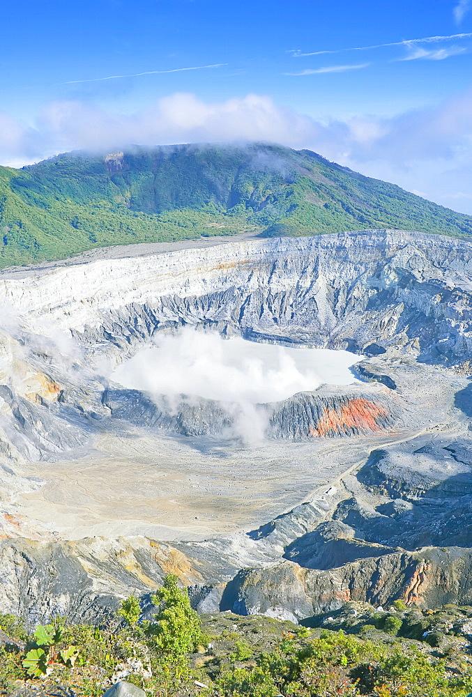 Poas Volcano, Poas Volcano National Park, Costa Rica, Central America