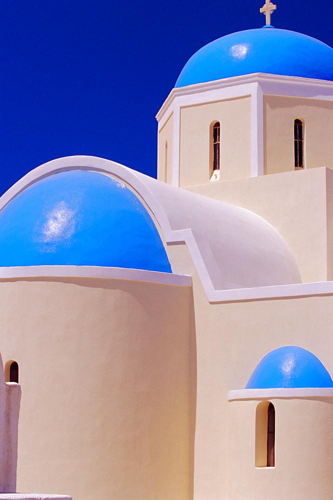 Orthodox Church Oia, Santorini, Cyclades Islands, Greece - 718-558