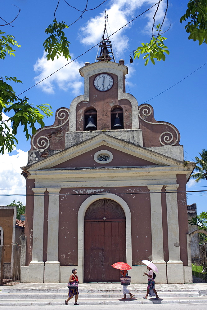 Small church, Fomento, Sancti Spiritus, Cuba, West Indies, Central America - 722-135