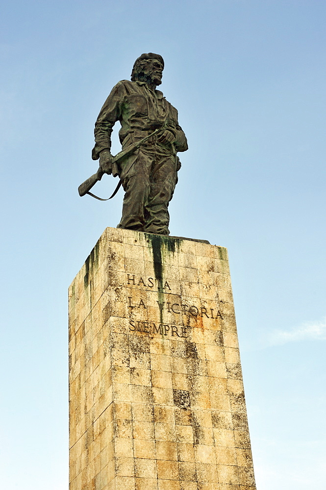 The Commander Ernesto Guevara (El Che) Memorial sculpted  by Jose Delarra, Plaza de la Revolucion, Santa Clara, Cuba, West Indies, Central America - 722-151