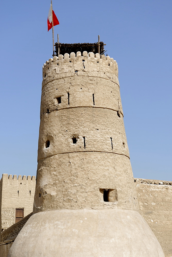 Al Fahidi Fort, Deira, Dubai, United Arab Emirates, Middle East
