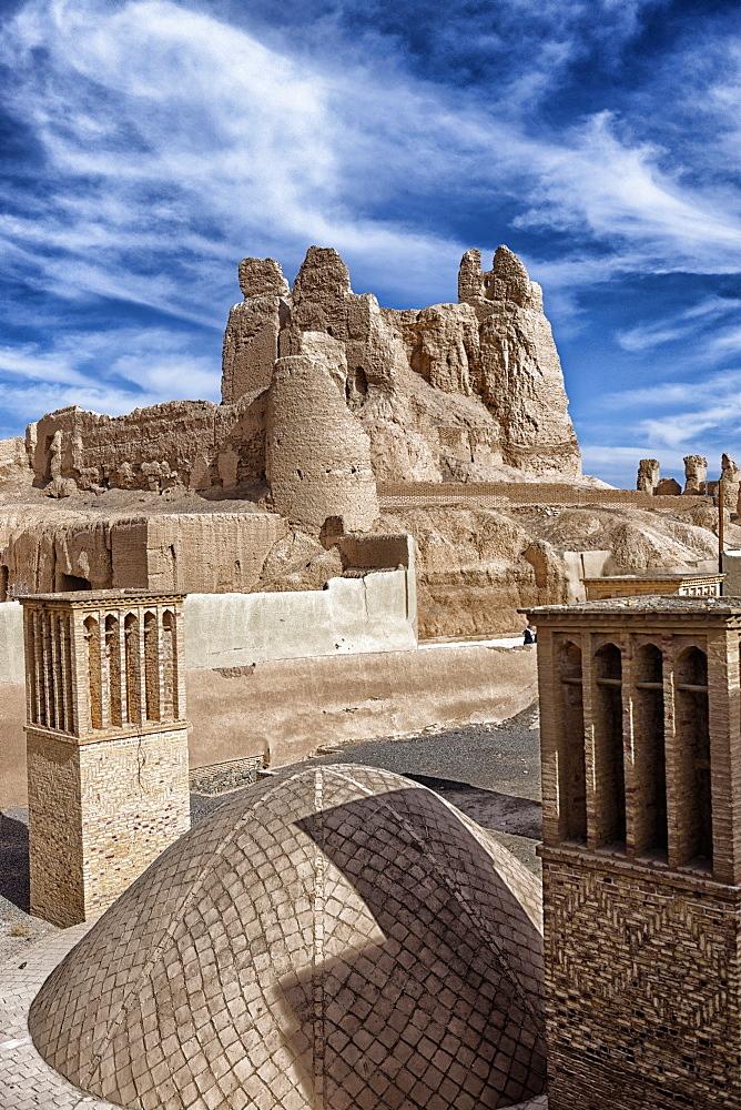 Narenj citadel, Nain city, Isfahan Province, Iran, Middle East - 724-2598