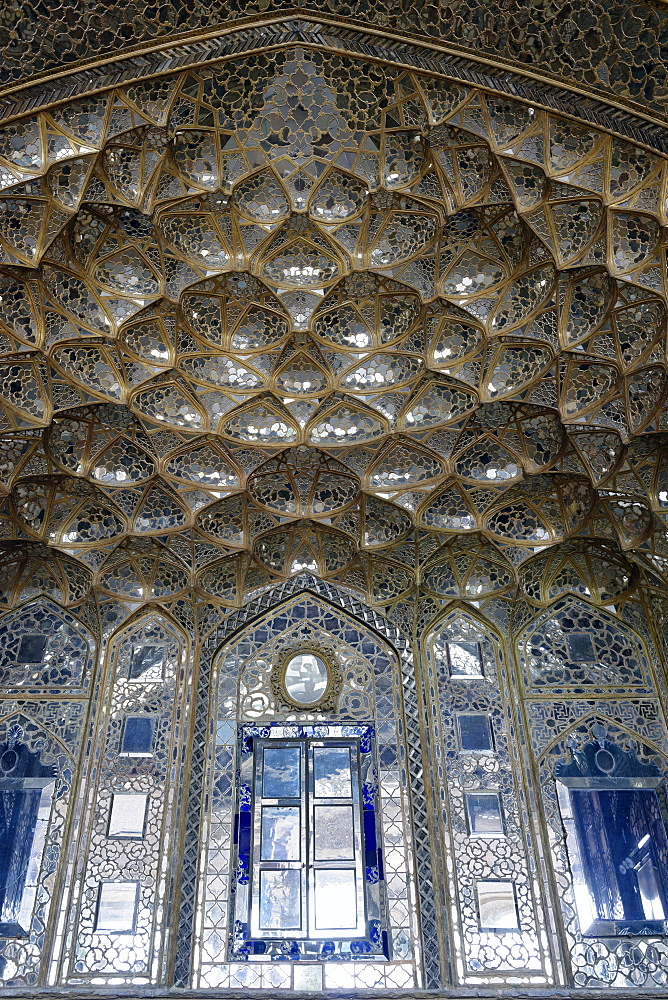 Mirror Palace, Chehel Sotoun Palace (Forty Columns), Isfahan, Iran, Middle East