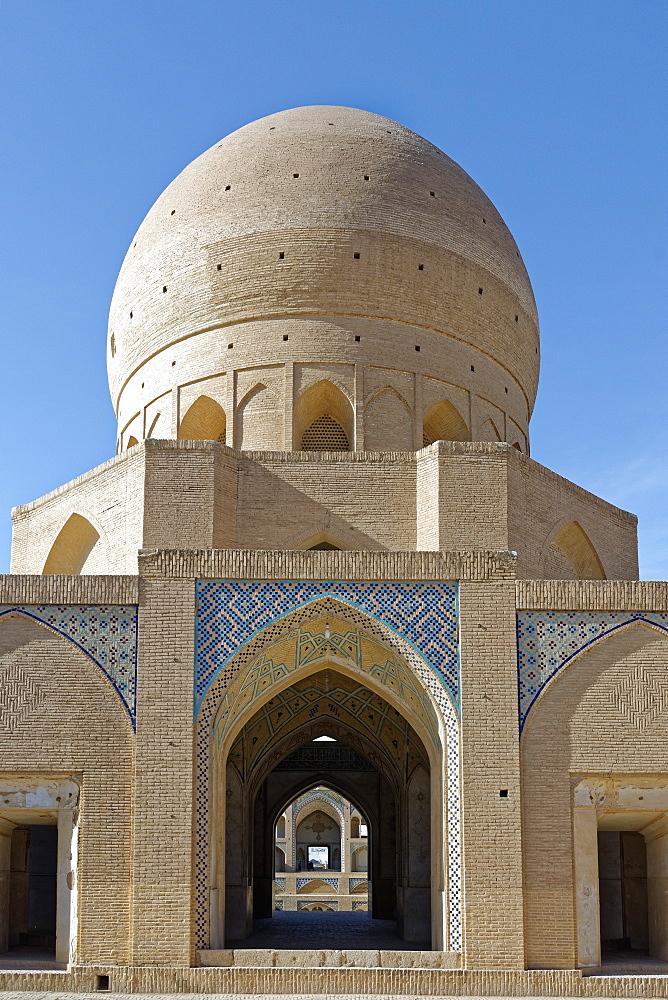 Agha Bozorg Mosque, Kashan city, Iran, Middle East - 724-2618