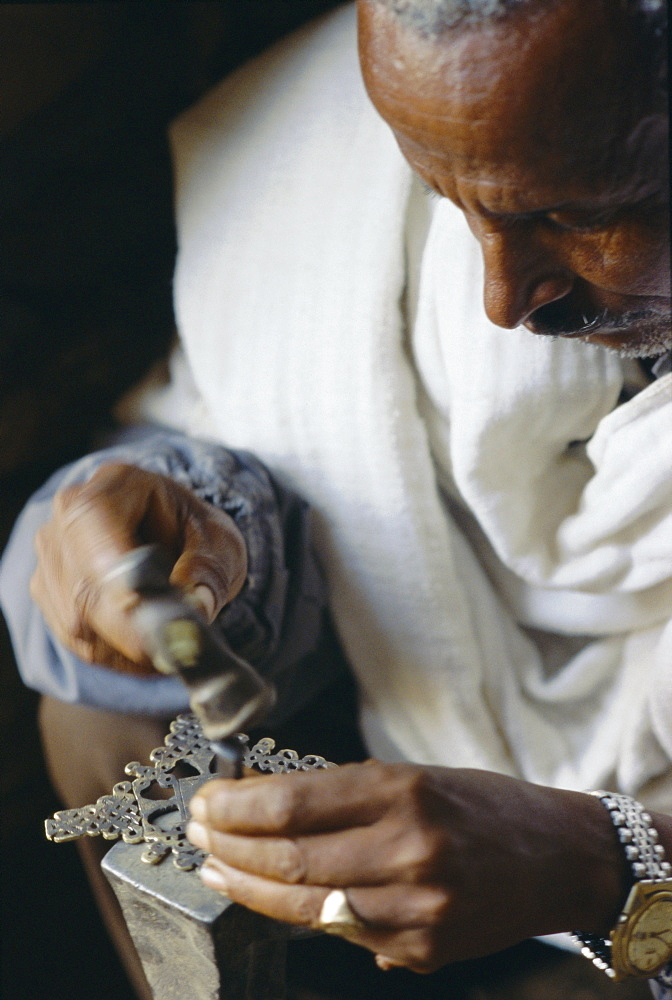Blacksmith, Axoum, Ethiopia, Africa