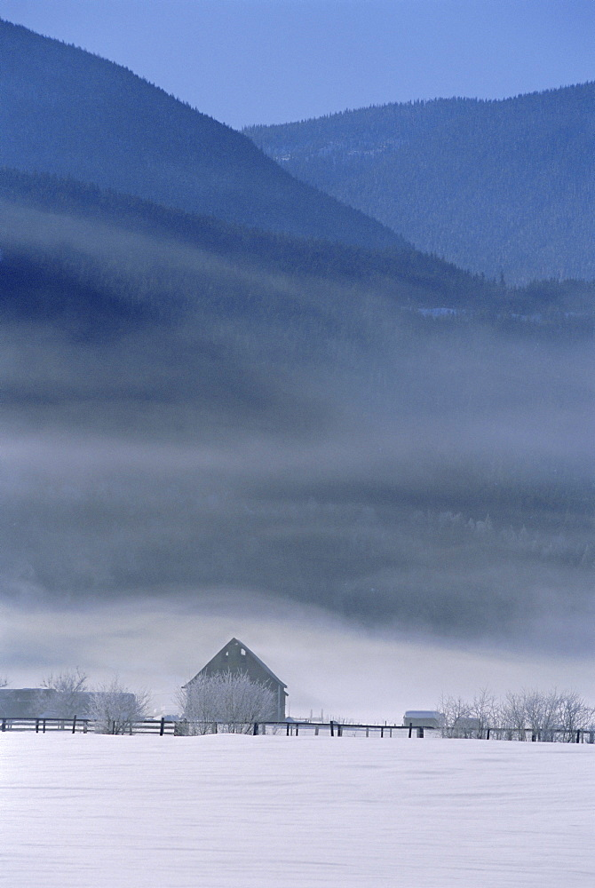Winter in the Rocky Mountains, Alberta, Canada - 728-1988