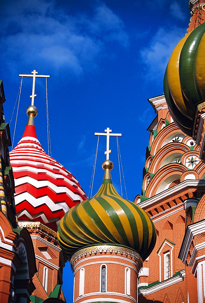 St. Basil's Cathedral, UNESCO World Heritage Site, Moscow, Russia, Europe - 728-2362