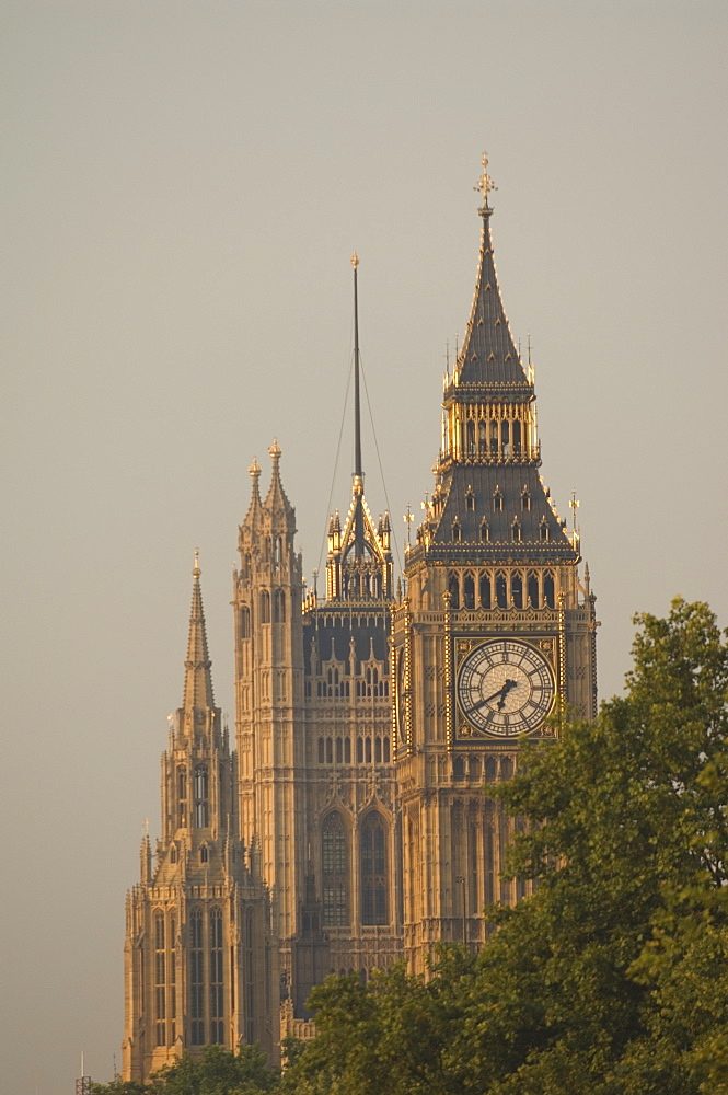 Big Ben and the Houses of Parliament, Westminster, London, England, United Kingdom, Europe
