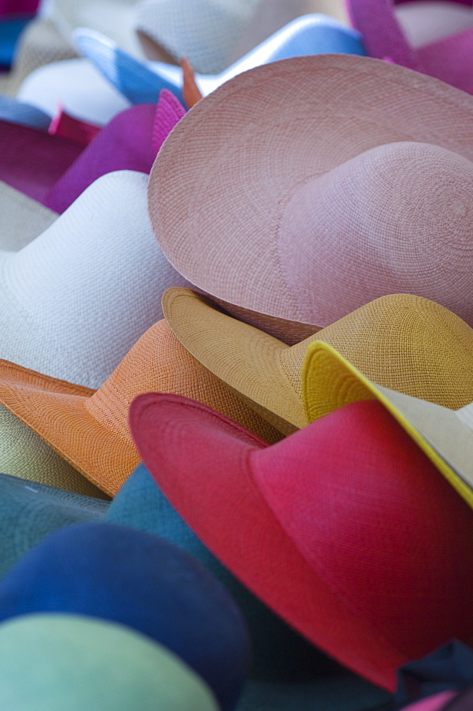 Coloured Hats, St Tropez, France