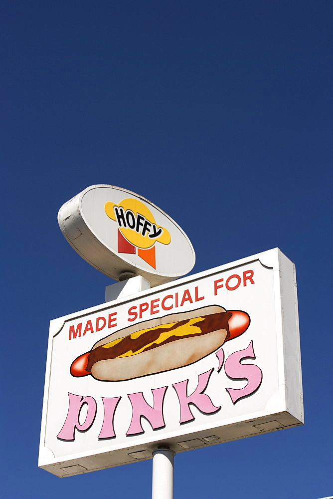 Pink's Hot Dogs, Los Angeles, California, United States of America, North America