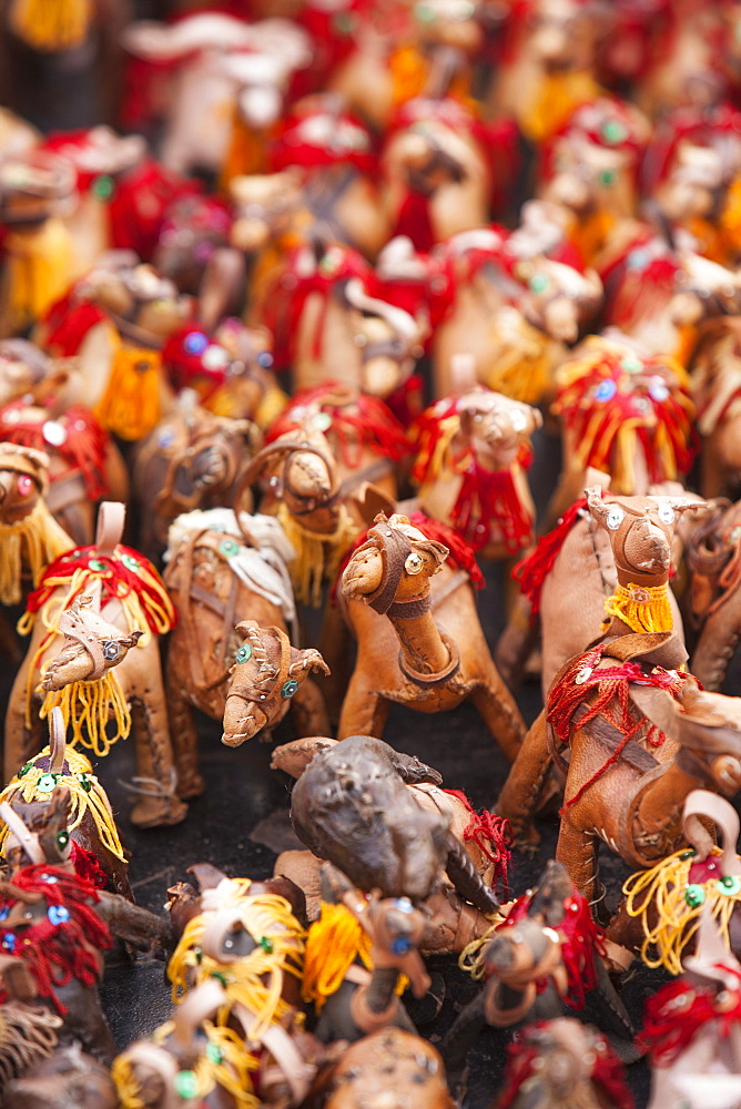 Toy camels for sale, Marrakech, Morocco, North Africa, Africa