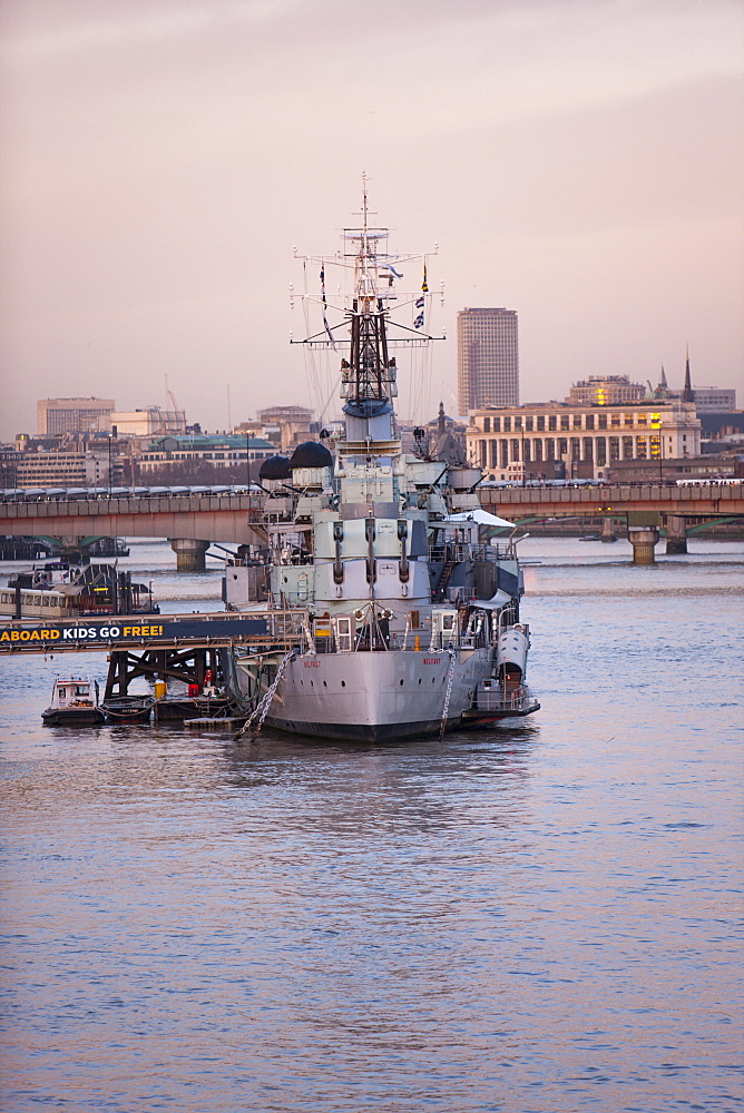 HMS Belfast, London, England, United Kingdom, Europe