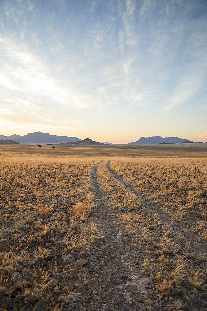 Little used track through the Namib Desert, Namibia, Africa