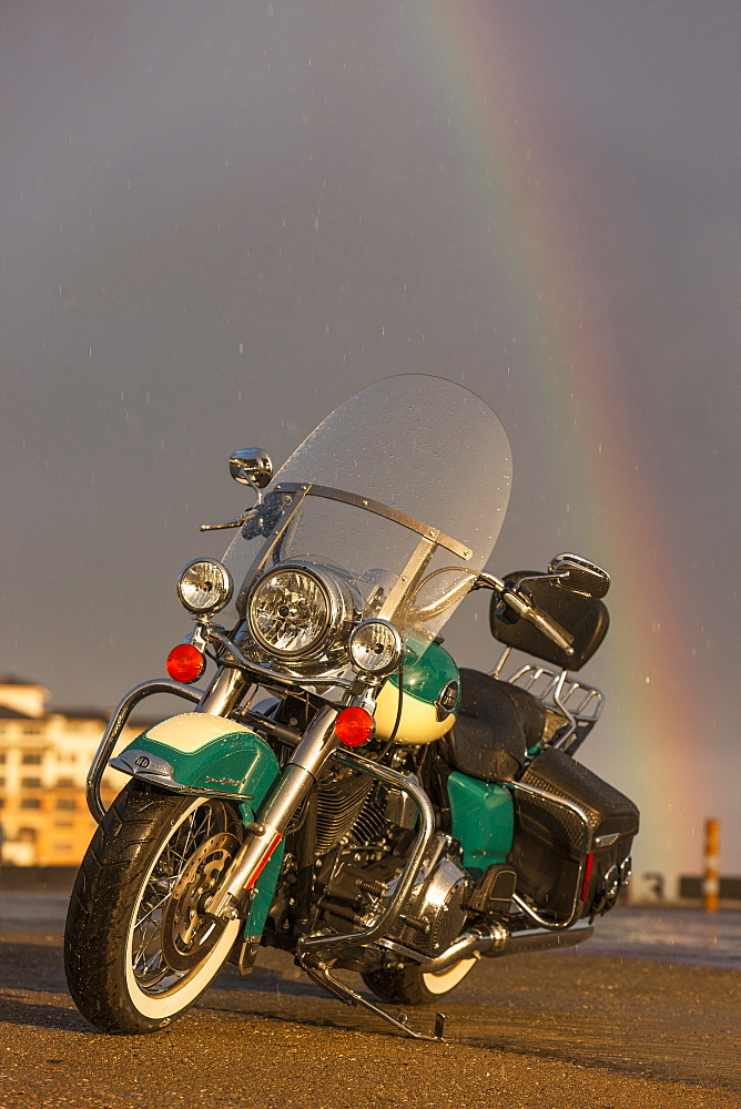 American motorcycle, Monterey, California, United States of America, North America