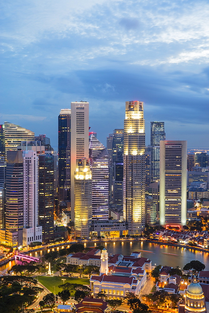 Financial District, Singapore, Southeast Asia, Asia - 728-6360