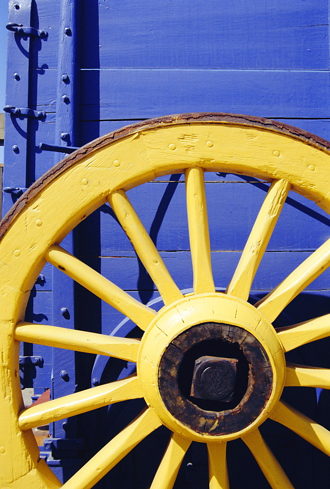 Yellow wheel, USA