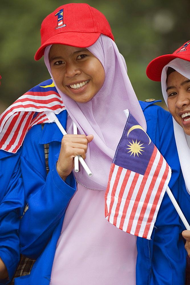 Independence Day celebrations, Kuala Lumpur, Malaysia, Southeast Asia, Asia