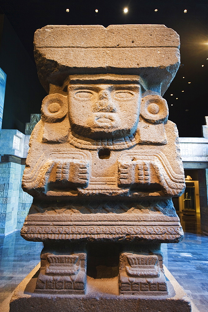 Teotihuacan history, Museo Nacional de Antropologia (Anthropology Museum), District Federal, Mexico City, Mexico, North America