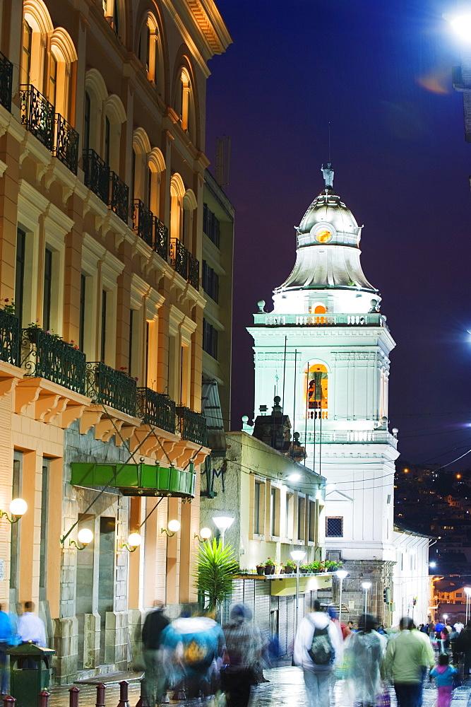 Old town, UNESCO World Heritage Site, Quito, Ecuador, South America