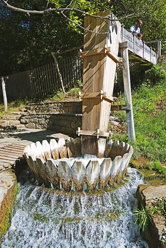 Irrigation, Etar Ethnographic Village Museum, Etar, Bulgaria, Europe