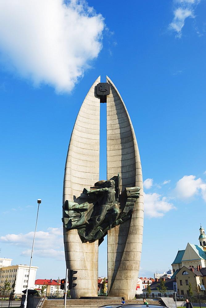 Communist Monument, Rzeszow, Poland, Europe