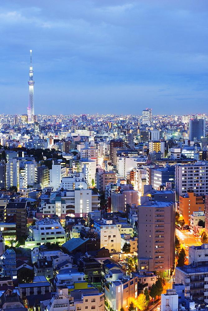 Tokyo Skytree, Tokyo, Honshu, Japan, Asia