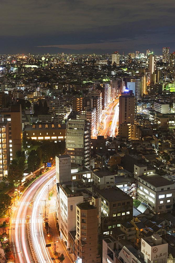 City skyline, Ikebukuro, Tokyo, Honshu, Japan, Asia