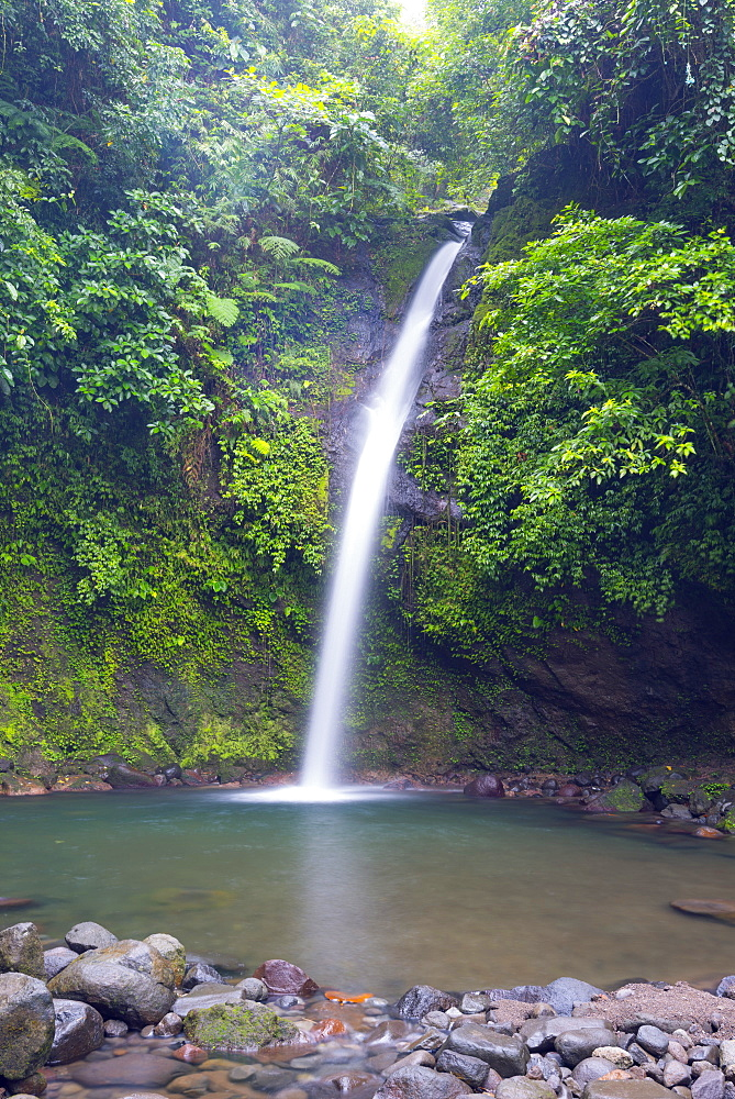 Busay Falls, Legazpi, south east Luzon, Philippines, Southeast Asia, Asia