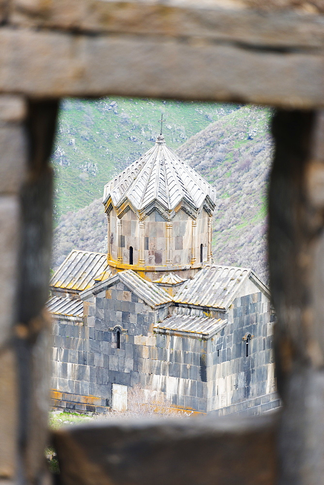 Church at Amberd fortress located on the slopes of Mount Aragat, Aragatsotn Province, Armenia, Caucasus, Central Asia, Asiat