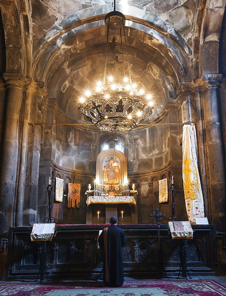 Geghard Monastery, UNESCO World Heritage Site, Kotayk Province, Armenia, Caucasus, Central Asia, Asia