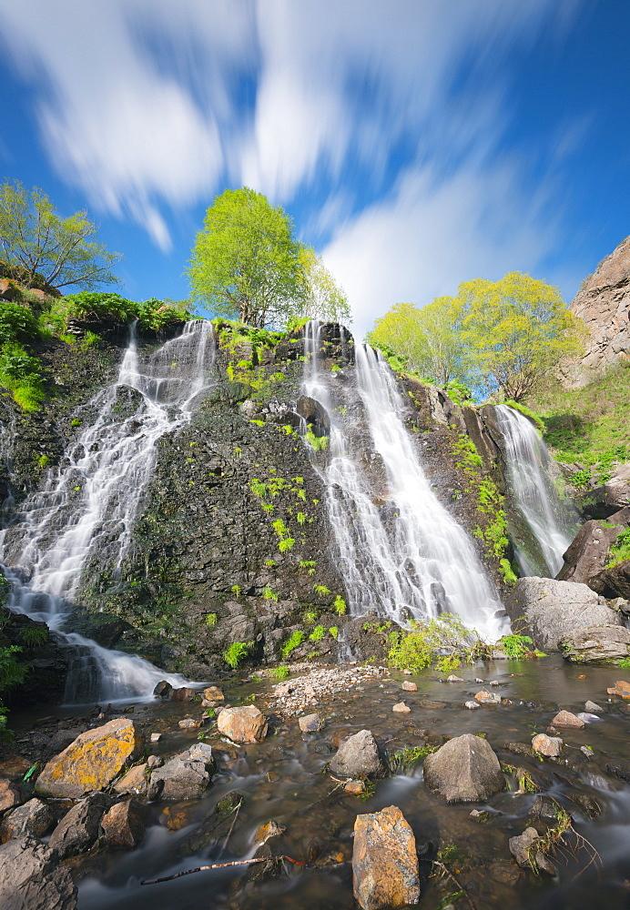 Shaki waterfall, Syunik Province, Armenia, Caucasus, Central Asia, Asia