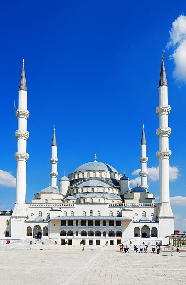 Kocatepe Camii Mosque, Ankara, Anatolia, Turkey, Asia Minor, Eurasia