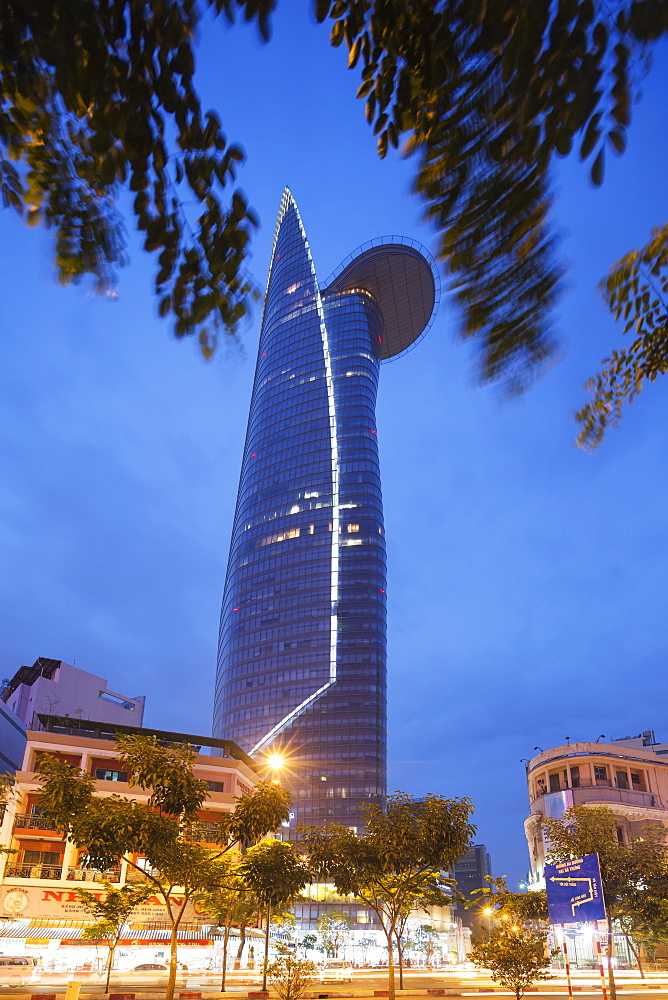 Bitexco Financial Tower, Ho Chi Minh City (Saigon), Vietnam, Indochina, Southeast Asia, Asia