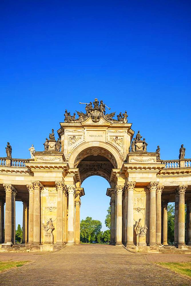 University of Potsdam building, Sanssouci Park, UNESCO World Heritage Site, Potsdam, Brandenburg, Germany, Europe