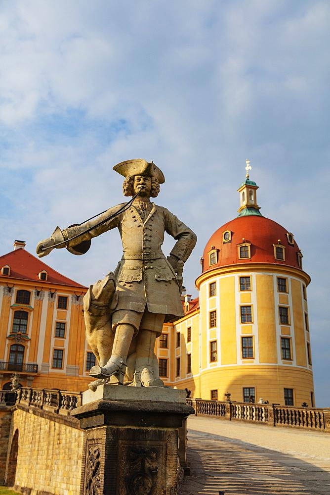 Moritzburg Castle, Saxony, Germany, Europe - 733-8012