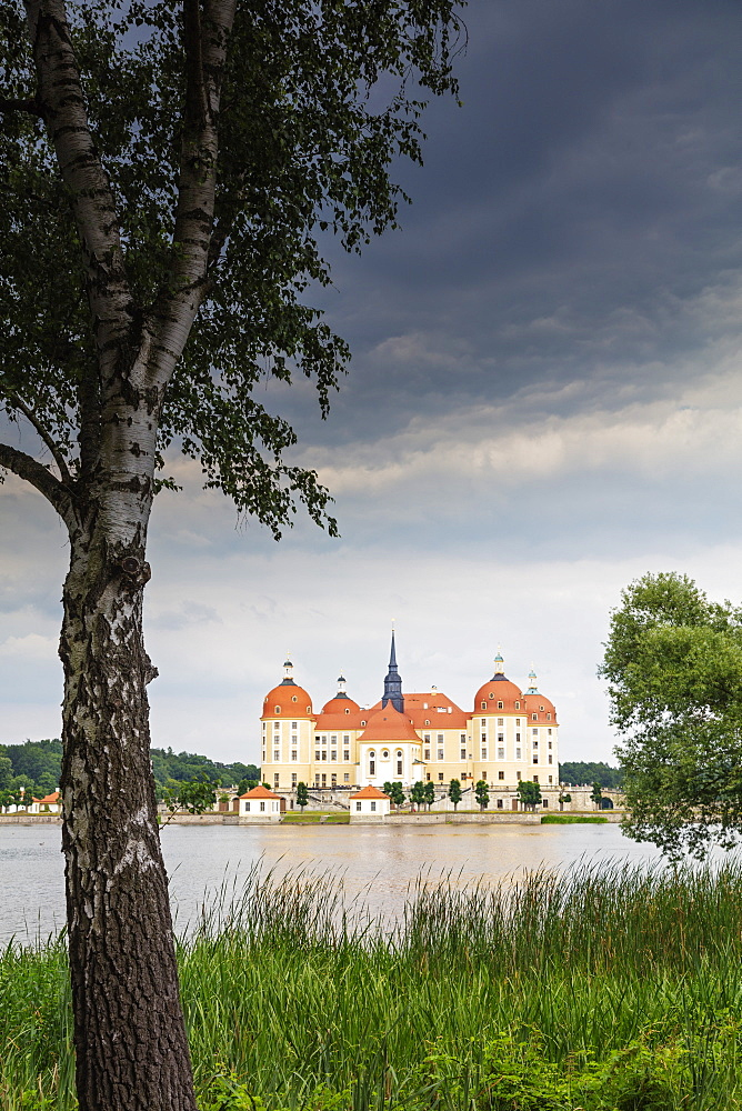 Europe, Germany, Saxony, Moritzburg castle