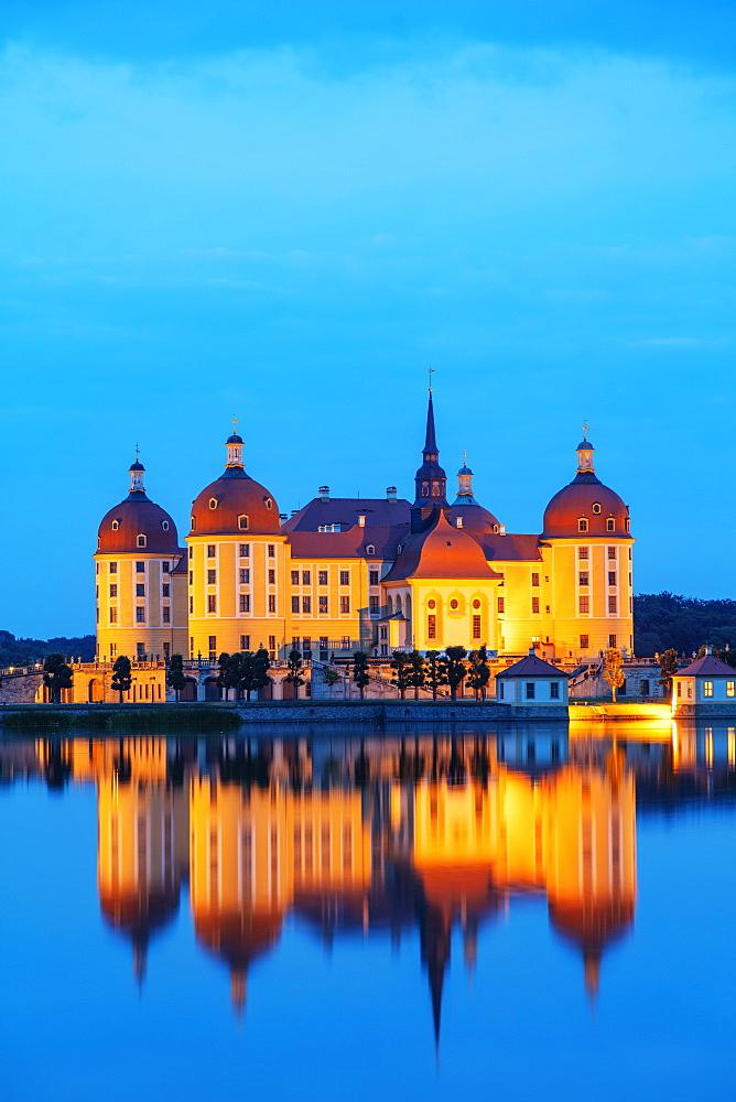 Moritzburg Castle, Saxony, Germany, Europe - 733-8018