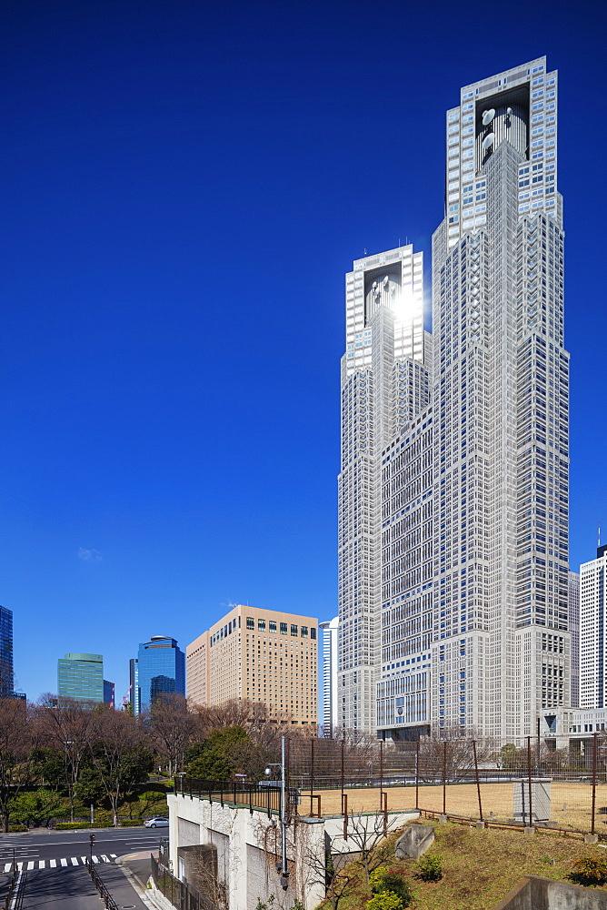 Asia, Japan, Tokyo, Shinjuku, Tocho government building