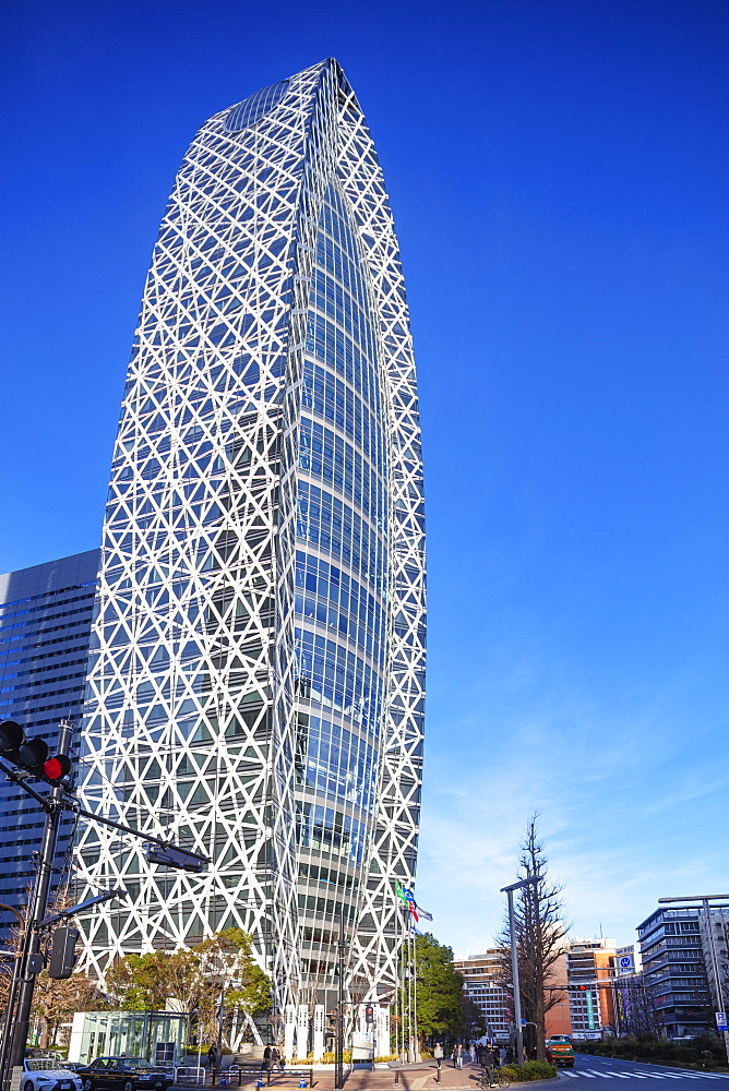 Asia, Japan, Tokyo, Shinjuku, Mode Gakuen Cocoon tower, Fashion college building